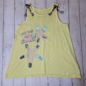 Justice GIRLS Flip Sequined Tank